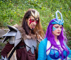 Entei and Suicune Cosplay