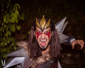 Hear me roar! Entei cosplay