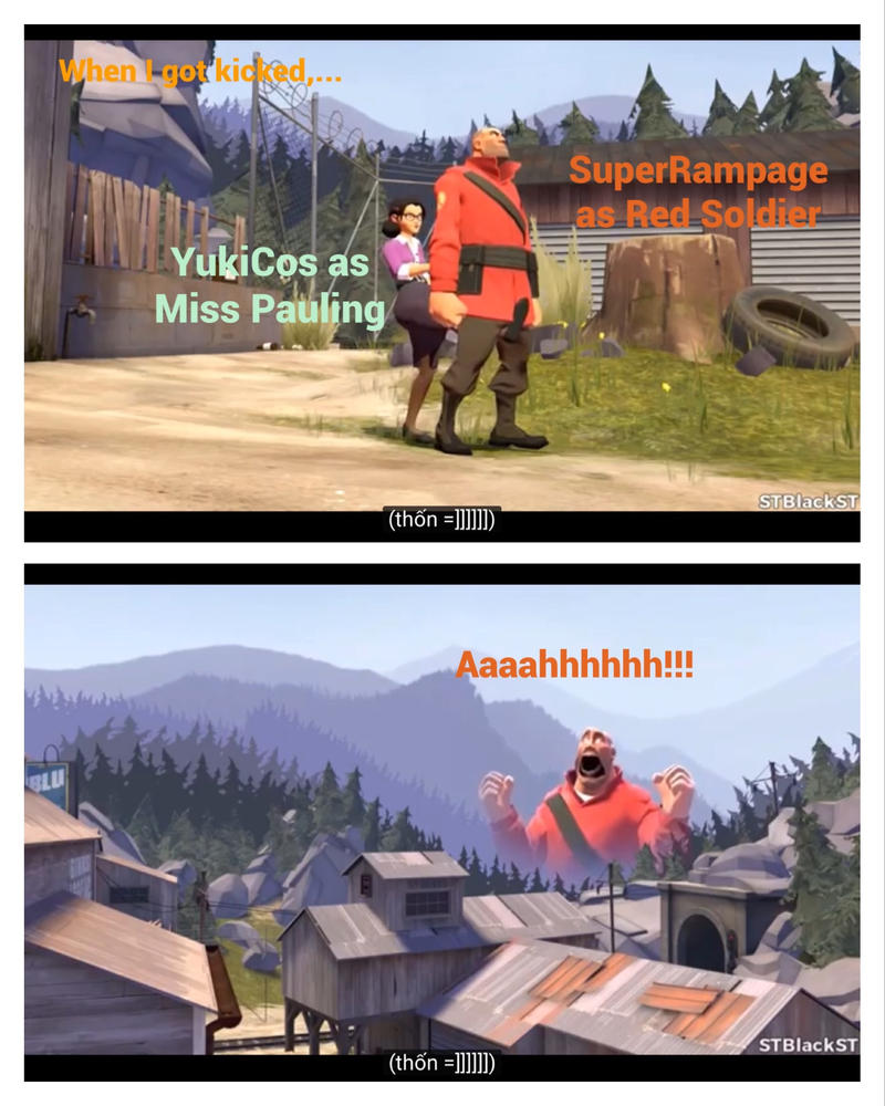 When I got kicked,... by BluSniper21