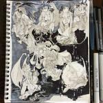 Inktober 2017 #4 - The Gargoyle