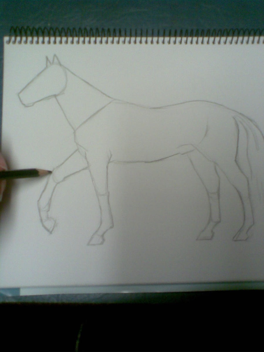 Basic shapes - horse by VIZEarts