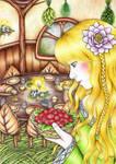 Goldberry's Feast by MoonlightPrincess