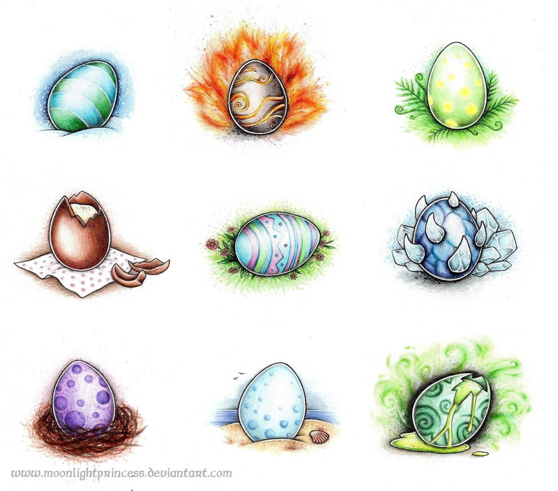 WoW Egg Collection by MoonlightPrincess