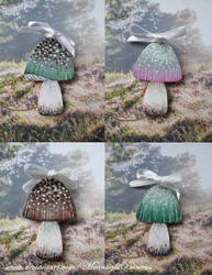 Fairy Shrooms by MoonlightPrincess