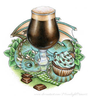 Peppermint Chocolate Sweet Stout Dragon