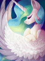 Happy Celestia Day! by SpindleSpice
