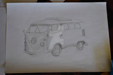 VW Bus T1 by Lanaari-Kathura