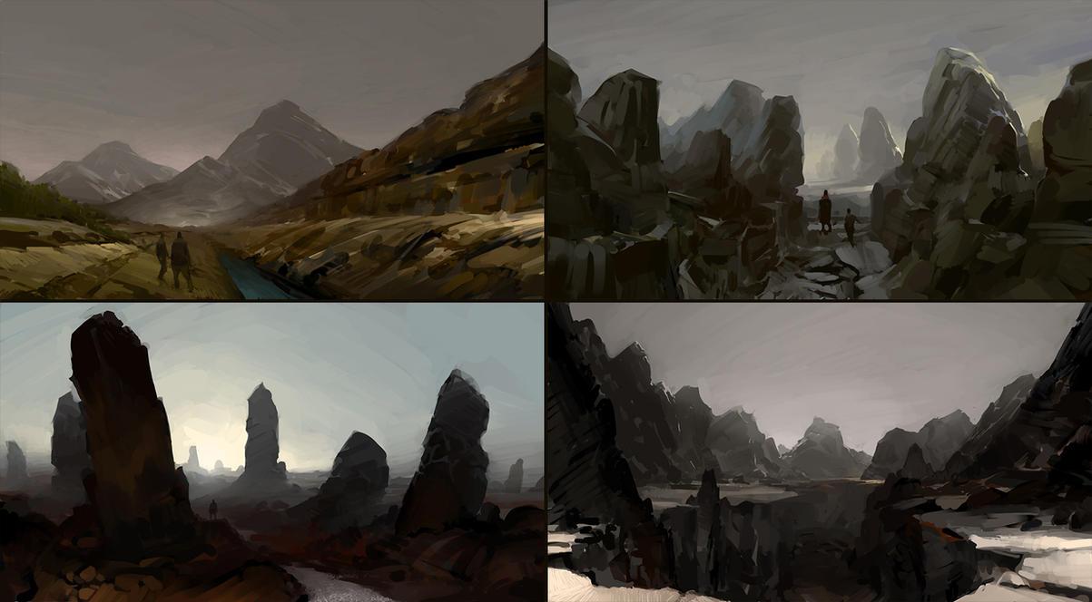 landscapes by ilikeyoursensitivity