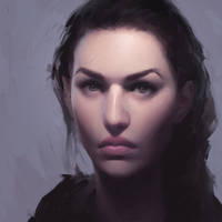 Purple face by ilikeyoursensitivity