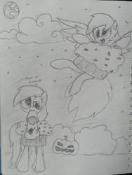 Derpy Nightmare Night by jbtaint24