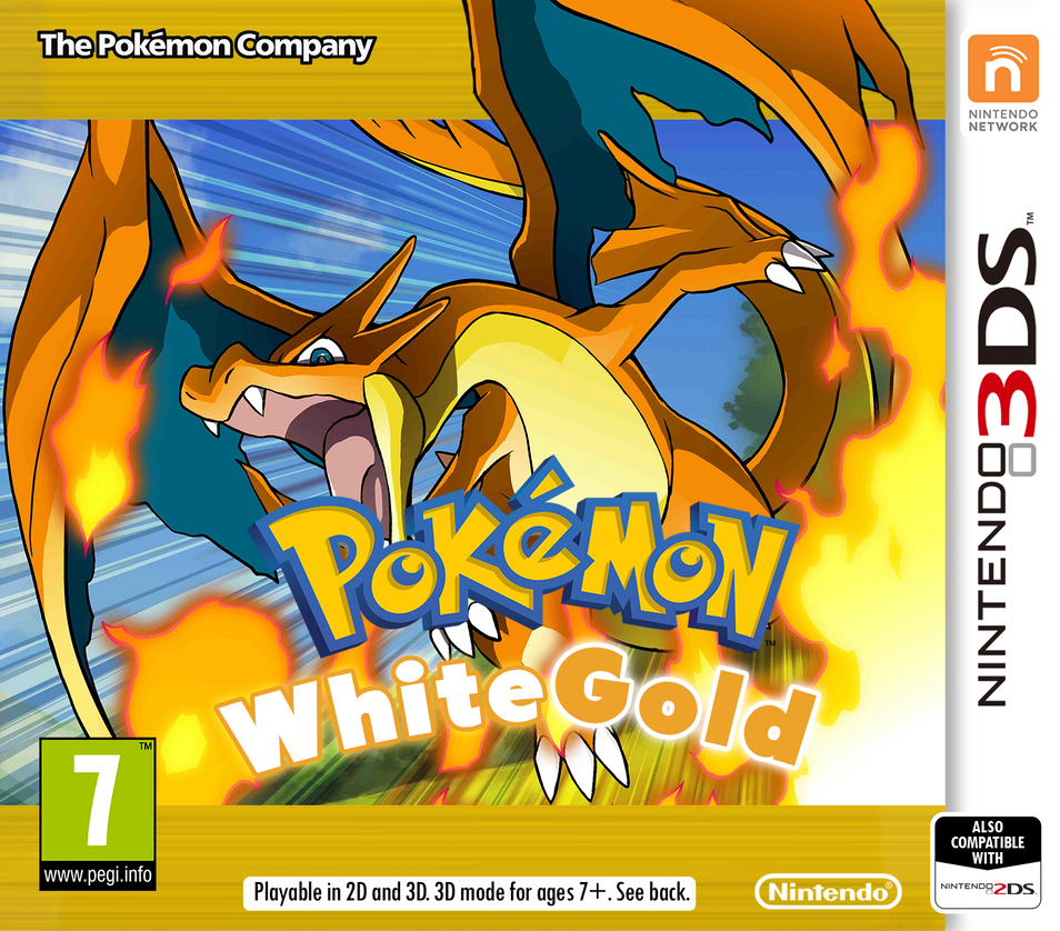 Nintendo 3ds Pokemon Games : Nintendo ds pokemon whitegold cover by patrickwcity on