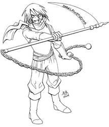 Fantasy Warrior Guy by DarKlawStudios