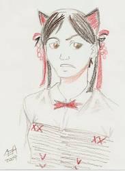 Anime Portrait by DarKlawStudios