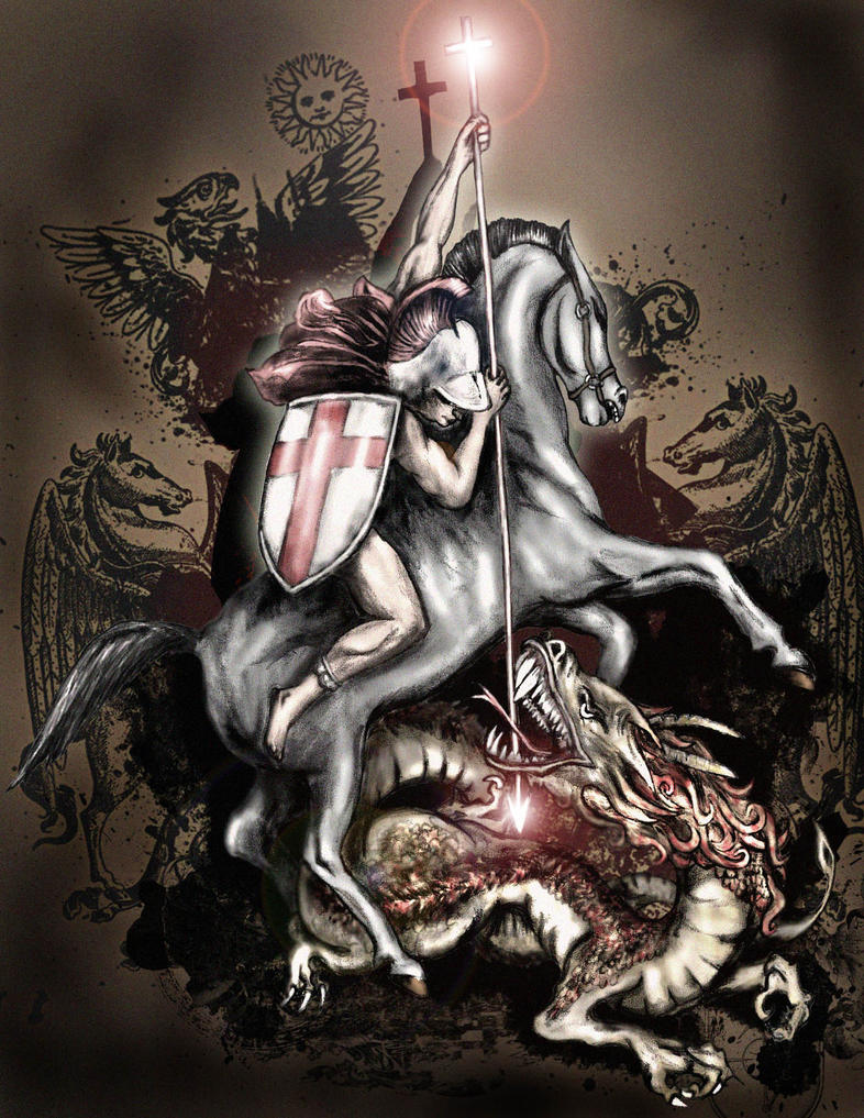 St george by saramira on deviantart for Tattoo shops in st george