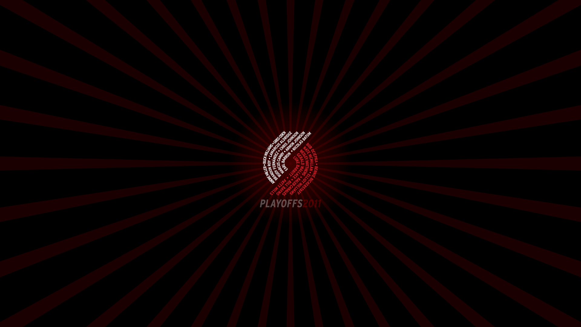 Blazers Playoffs2011 1920x1080 by rossconkey