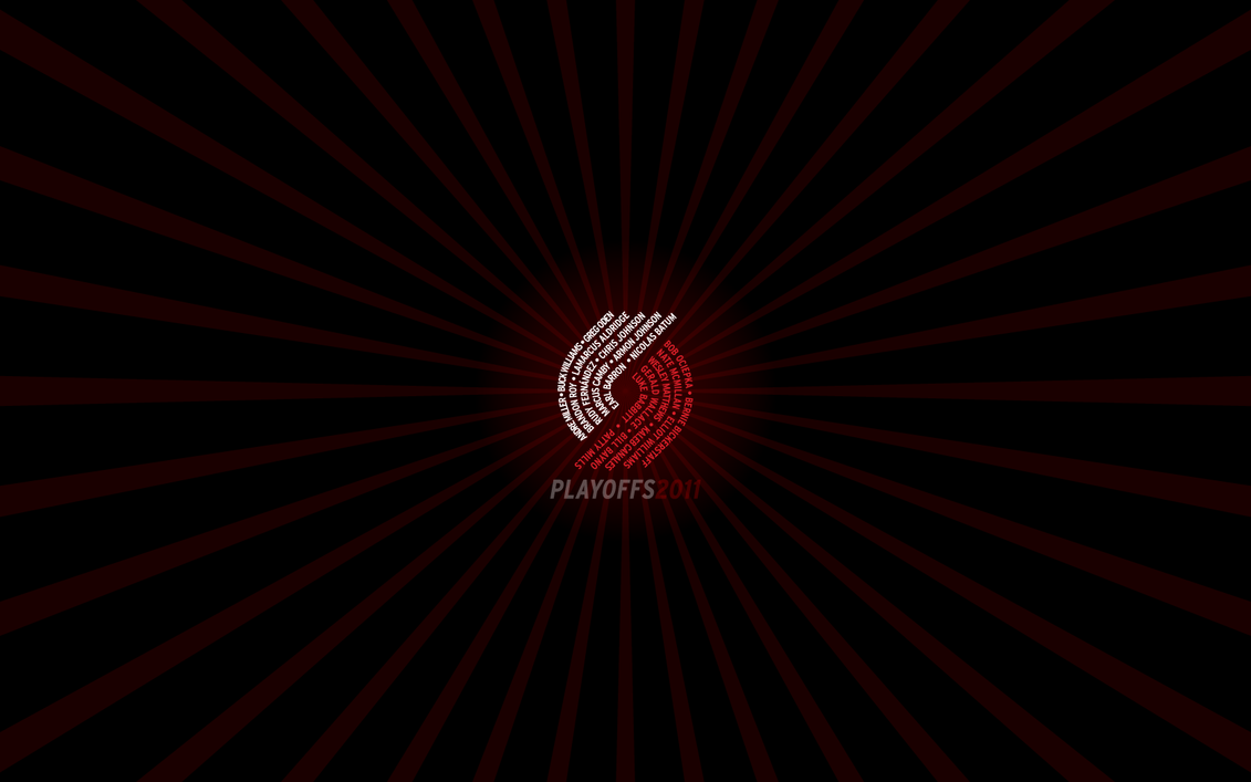 Blazers Playoffs2011 1680x1050 by rossconkey