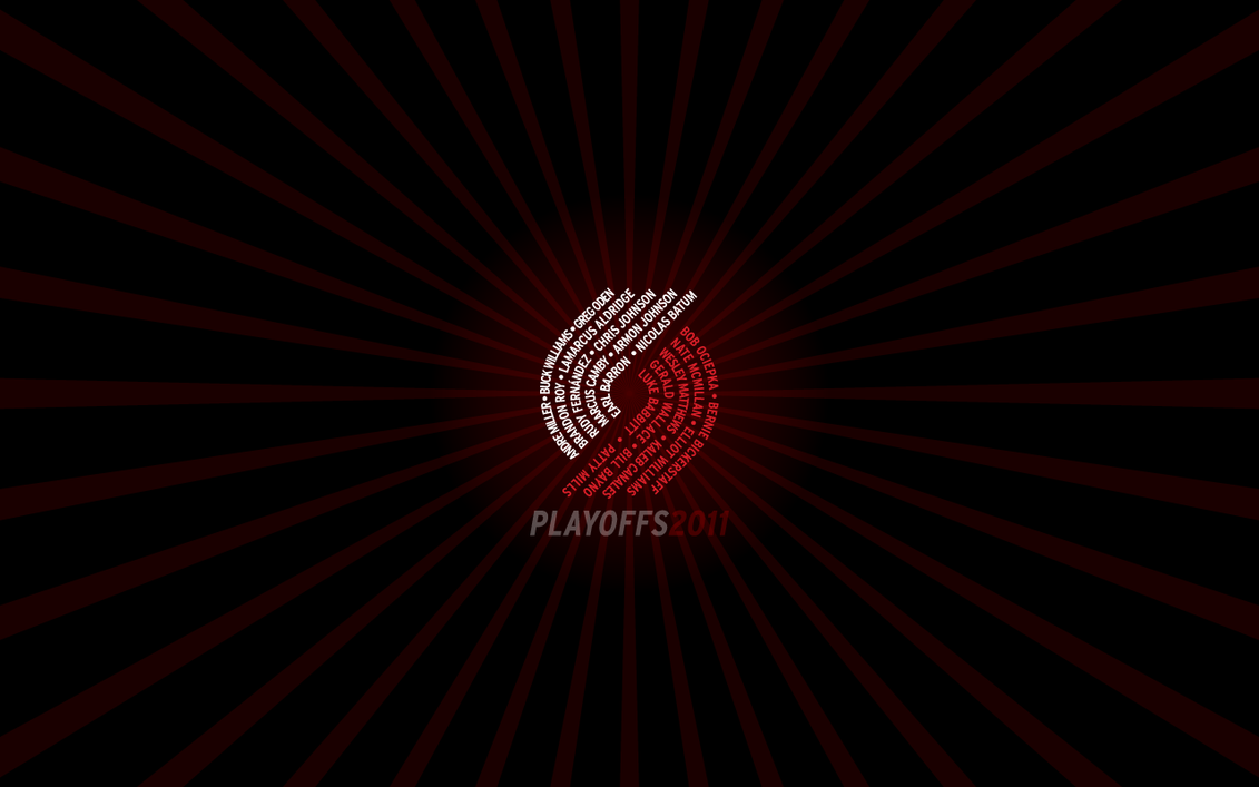 Blazers Playoffs2011 1280x800 by rossconkey