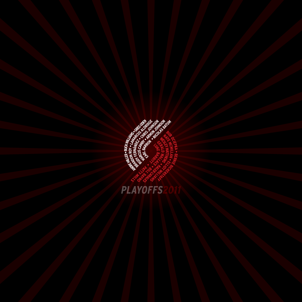 Blazers Playoffs2011 1024x1024 by rossconkey