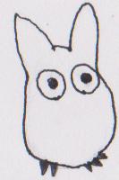 INKtober #24: White Totoro by Kyleboy21