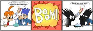 Toon June - Day 28 (BONUS): BOOM!