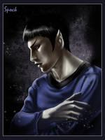 Spock by OrenMiller