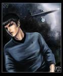 Spock fan Art star trek
