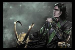 Loki marvel II by OrenMiller