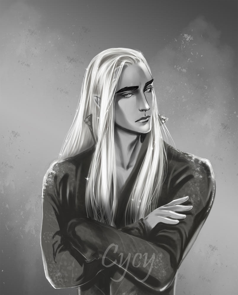 thranduil (edit) by Syrkell