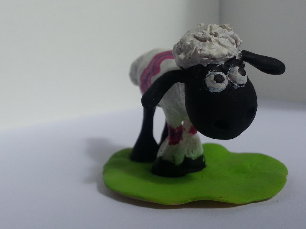 Shaun the Sheep by KeraJoan