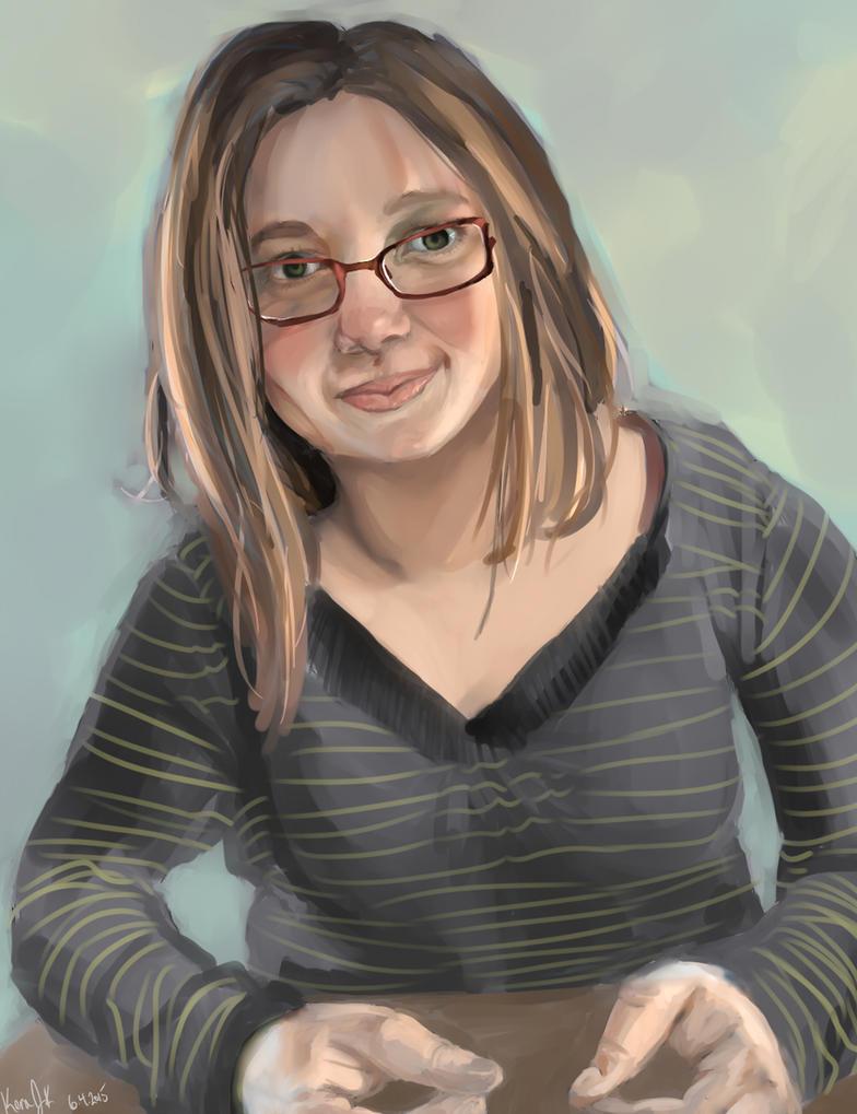 Portrait Pratice I by KeraJoan