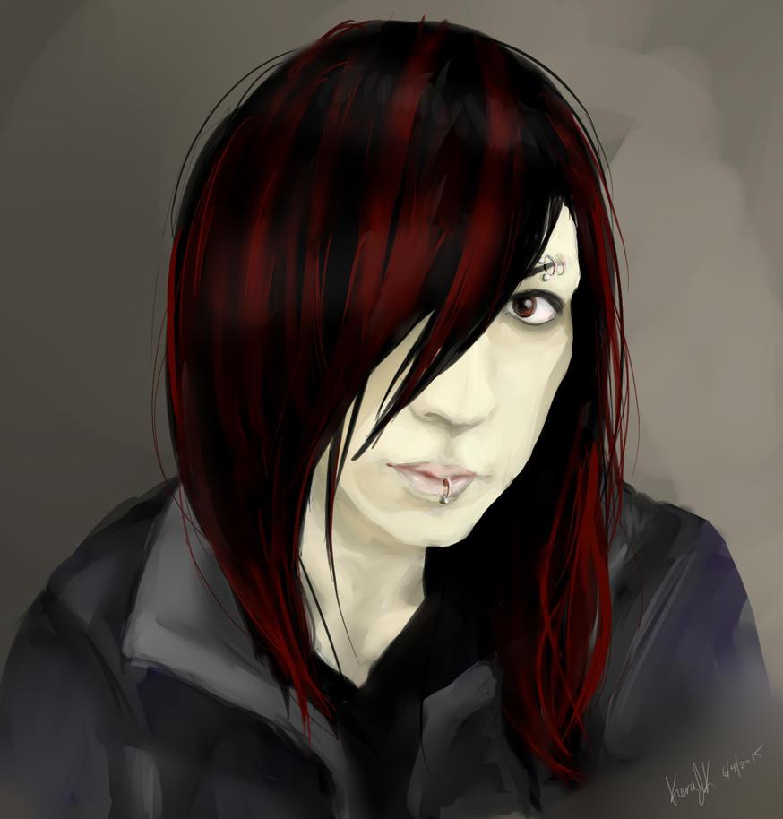 Portrait Pratice II by KeraJoan