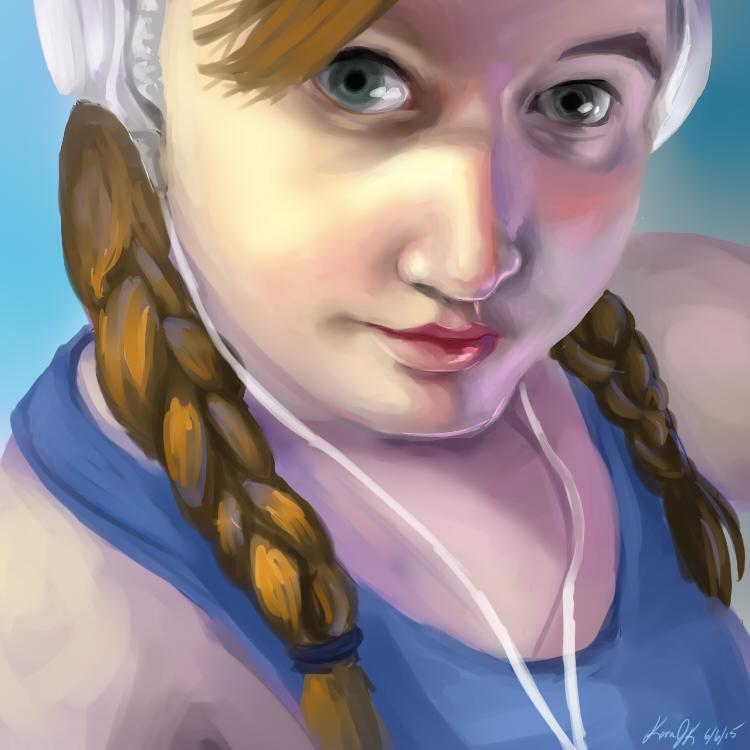 Portrait Pratice III by KeraJoan