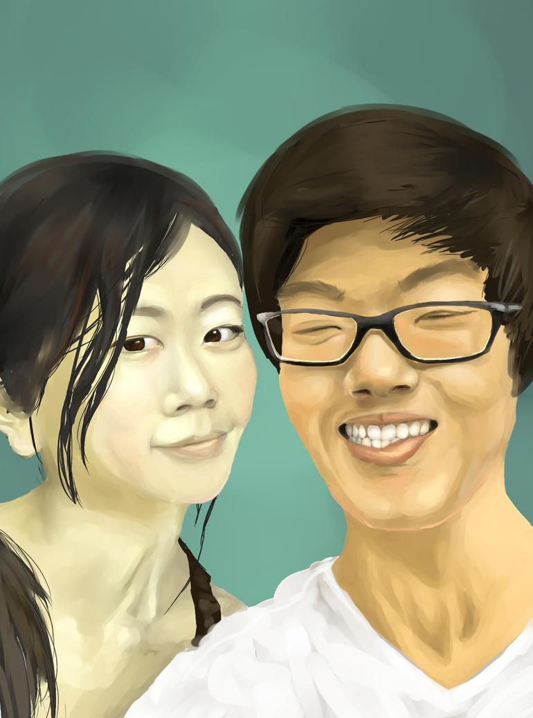 Portrait Pratice IV by KeraJoan