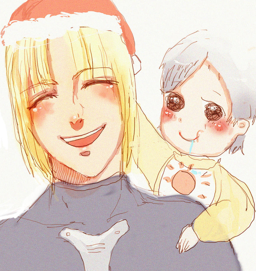 Merry Christmas with Jack and Sunny by suzanna8767