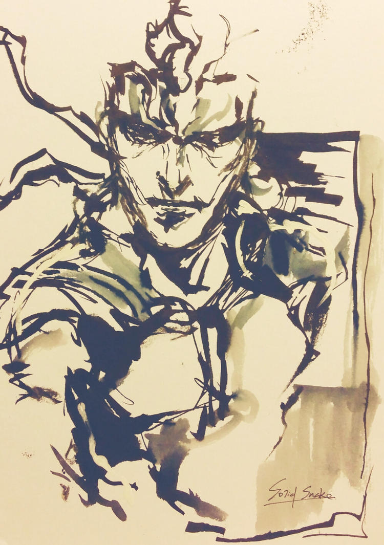 Solid Snake by suzanna8767