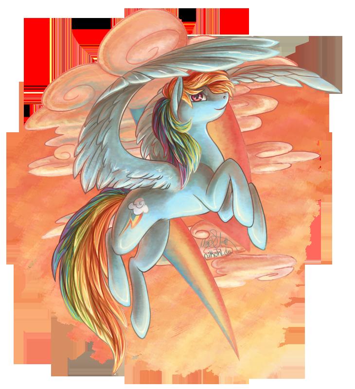 Rainbow Dash by nikohl