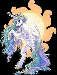 Princess Celestia by nikohl