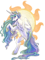 Princess Celestia by nikohl