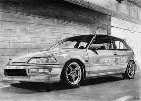 Honda Civic IV gen. by tajus