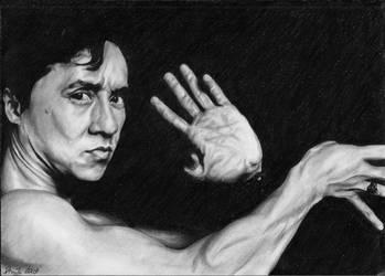 Jackie Chan by tajus