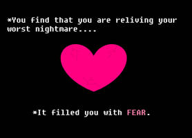 Glitchtale: The Soul of FEAR by Phoenix-Prime-3000