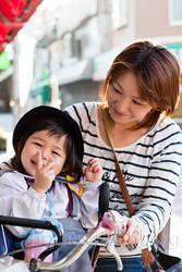 Haruka and her mom