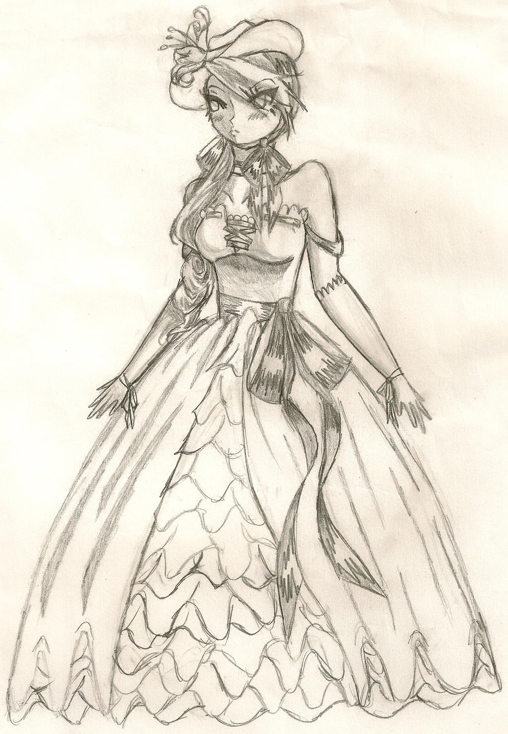 victorian style dress by reynatheassassin on deviantart