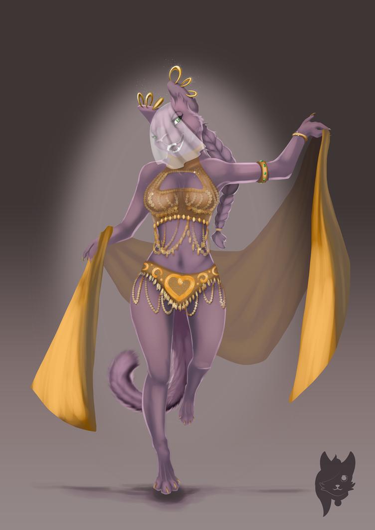 Belly Dancer by MechaTikal
