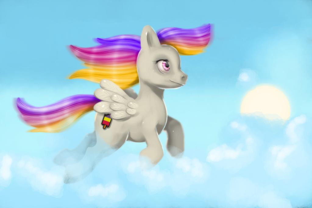 Popsicle Pony by MechaTikal