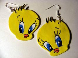 Tweety Earrings