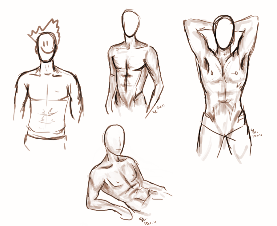 Male body types vol