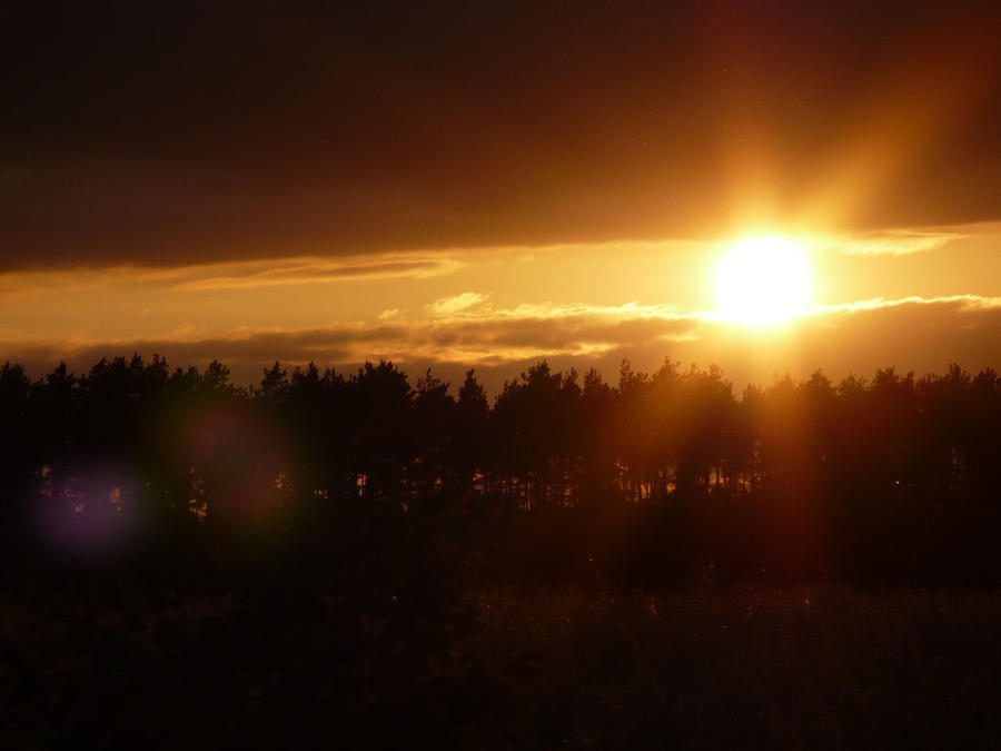 Sun Goes Down by telvas