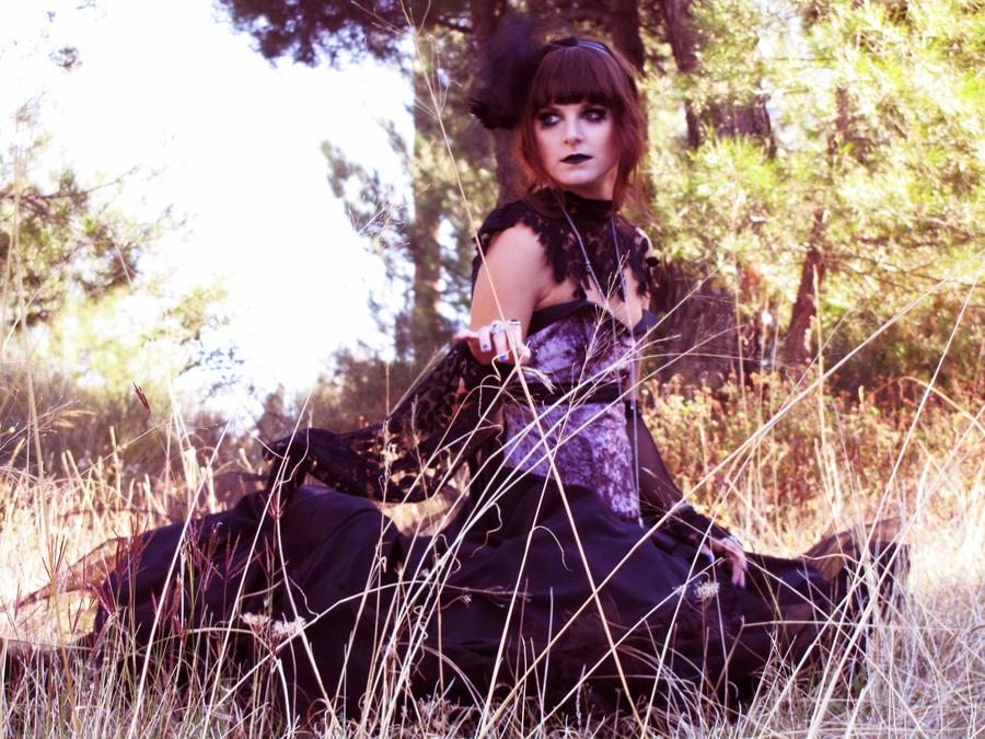 My Gothic Dress  I by Demimerzie