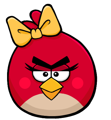 angry birds red female - photo #2